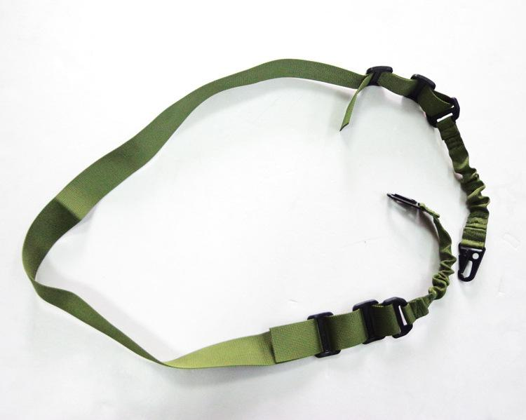 Tactical 2 Two Point Rifle Sling Regolabile Bungee Tactical Airsoft Gun Strap System Paintball Gun Sling Airsoft Caccia