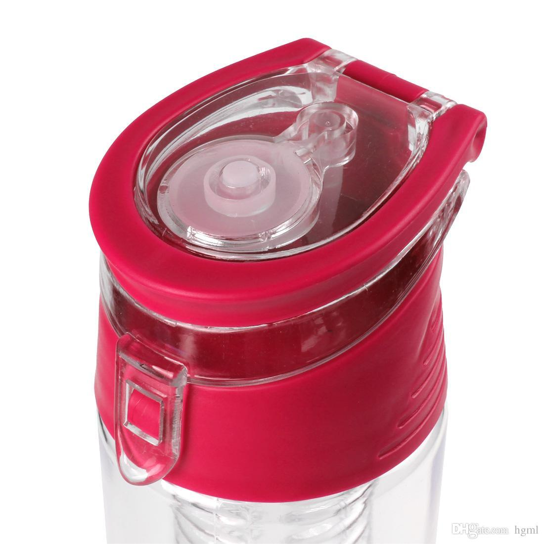 700ml Fruit Infuser Water Bottle Water Infusion Bottle with Flip Lid - Optional CYC_347