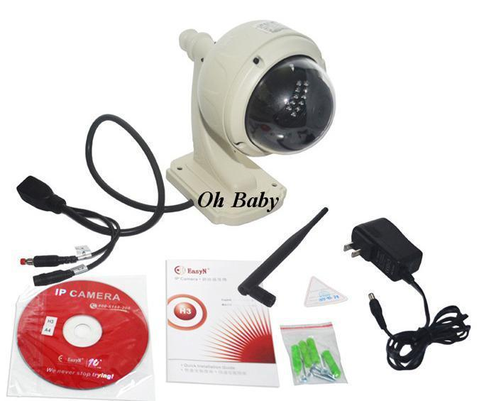 Easy-N Wireless WiFi Varifocal Lens Outdoor all in one dome wireless ip  camera outdoor cool cam with iphone/android app