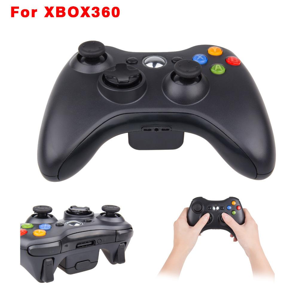 2016 New Wireless Gamepad Controller For Xbox 360 Wireless Black ...
