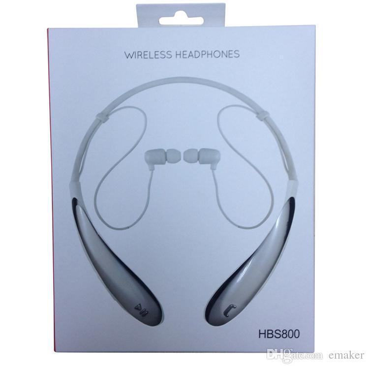 New tone ultra hbs800 esportes estéreo sem fio bluetooth hbs 800 fone de ouvido fone de ouvido fones de ouvido para lg iphone 7 samsung s7 + pacote de varejo dhl