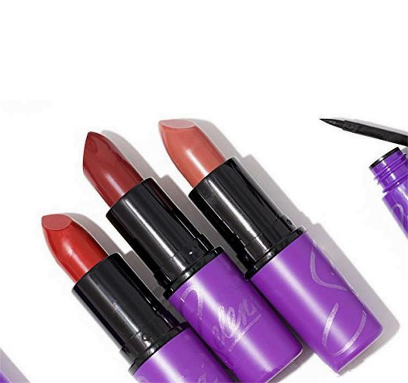 Selena Matte Lipstick Cosmetics Makeup Charm Purple lips Nourish Matte Velvet Lipgloss Lip Balm