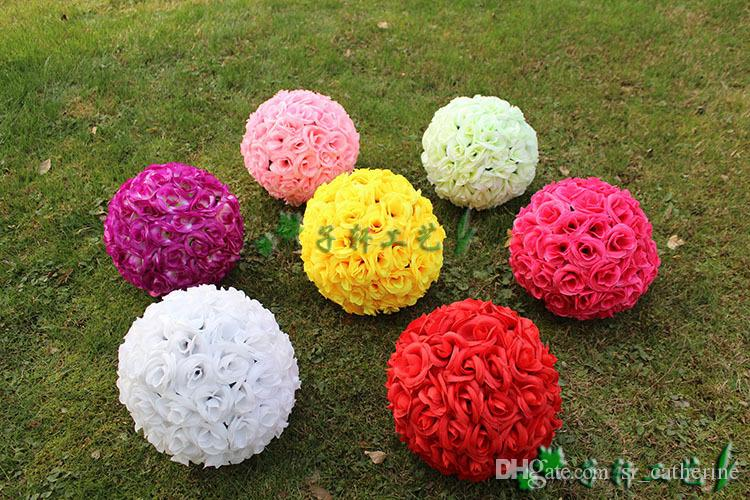Buy best and latest brand artificial rose balls silk flower kissing buy best and latest brand artificial rose balls silk flower kissing balls hanging rose balls christmas ornaments wedding party decorations rose bouquet mightylinksfo Choice Image
