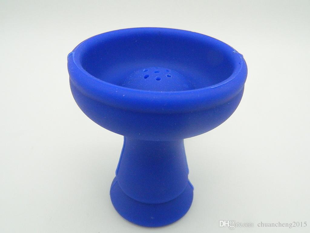 Нерушимая резина кальян кальян чаша глава кальян уголь держатель тепла хранитель кальян кальян керамическая силиконовая чаша трубы / мясорубки аксессуар