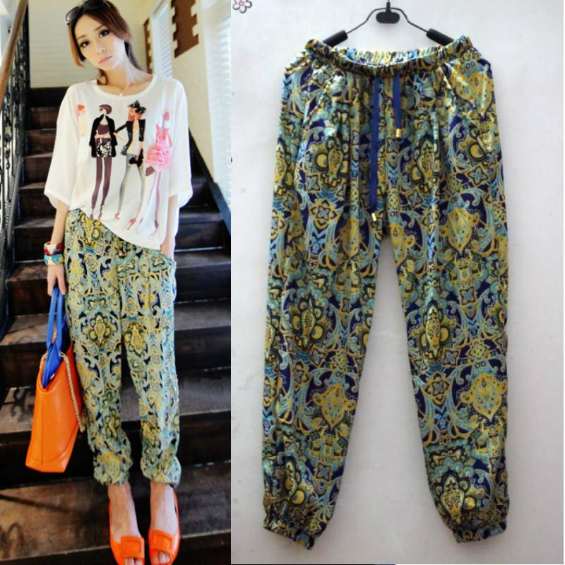 2017 Drop Shipping Harem Pants For Womens Fashion 2015 New