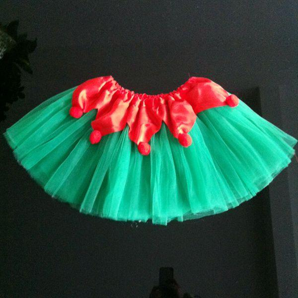 2014 New Fashion Halloween Christmas Tulle Chiffon Ruffles Tutu Skirt Children Gauze Dance Soft Girls Tutu Skirt