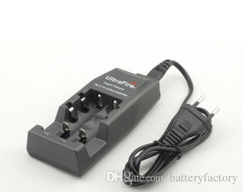 UltraFire WF-139 Schnellladegerät für 18650 3,7 V Lithium-Akku EU- oder US-Stecker