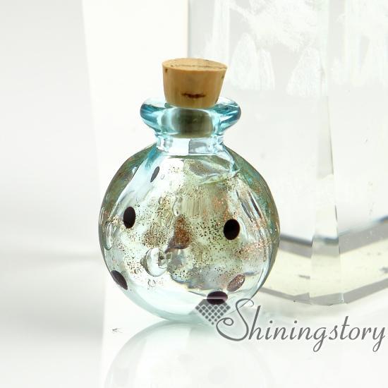 Pequeños frascos de vidrio urnas al por mayor encantos mascota cremación recuerdo joyería cenizas joyas recuerdos para cenizas medallón