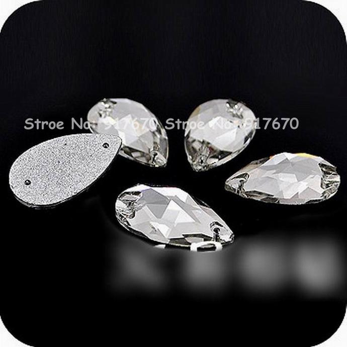 Quality 13x22mm Dropwater Stones And Crystals Buttons DIY Rhinestone Sewing  Accessories Stones And Crystals Sewing Accessories Rhinestone Online with  ... bc1878fe34bf