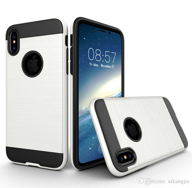 Wholesale Phone Case For iPhone 8 Plus X Fashion Mobile Phone Case Soft TPU Cover For iPhone 7 6S 8 X Case