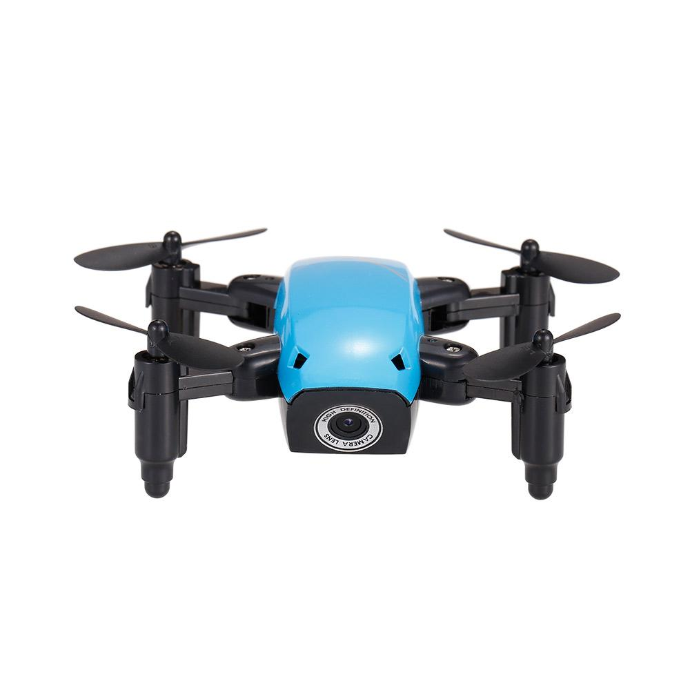 S9W 2.4G 4CH 0.3MP HD Camera Mini Helicopter WIFI FPV Altitude Hold Flight Planning Foldable RC Quadcopter Selfie Drone