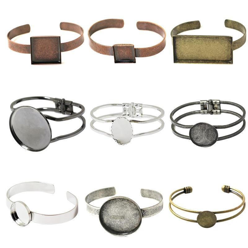 Beadsnice Bracelet Blanks Adjustable Bracelet Trays For