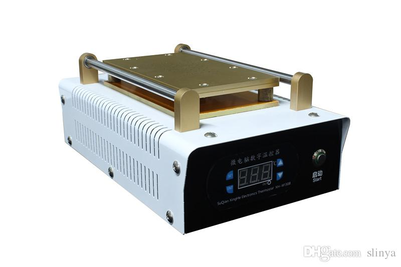 7 بوصة الهاتف المحمول شاشة تعمل باللمس فراغ LCD آلة المفرق المدمج في مضخة فراغ بلا ضوضاء آلة تجديد LCD