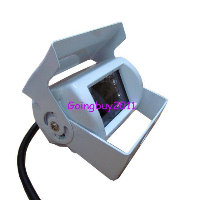 Weiß 18 LED IR-Umkehrkamera wasserdicht + 9