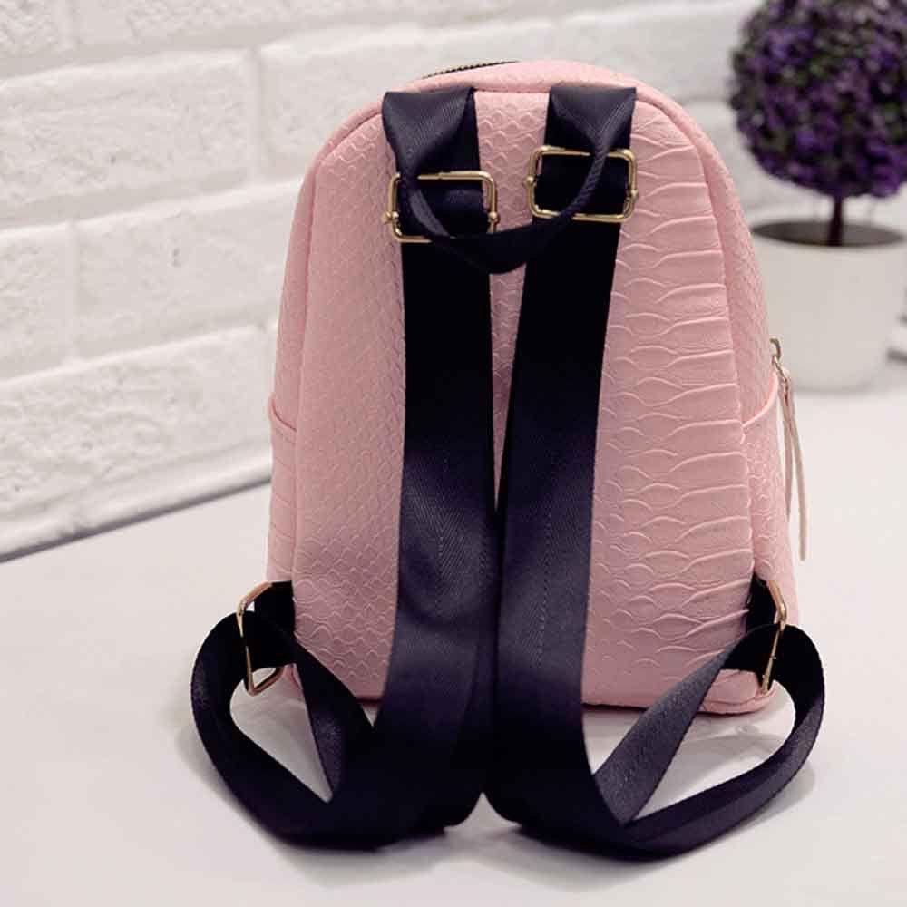 Fashion Women Leather Backpacks School bags Luxury Designer Ladies Travel Shoulder Bag Womens Backpack bolsa feminina 2017 New