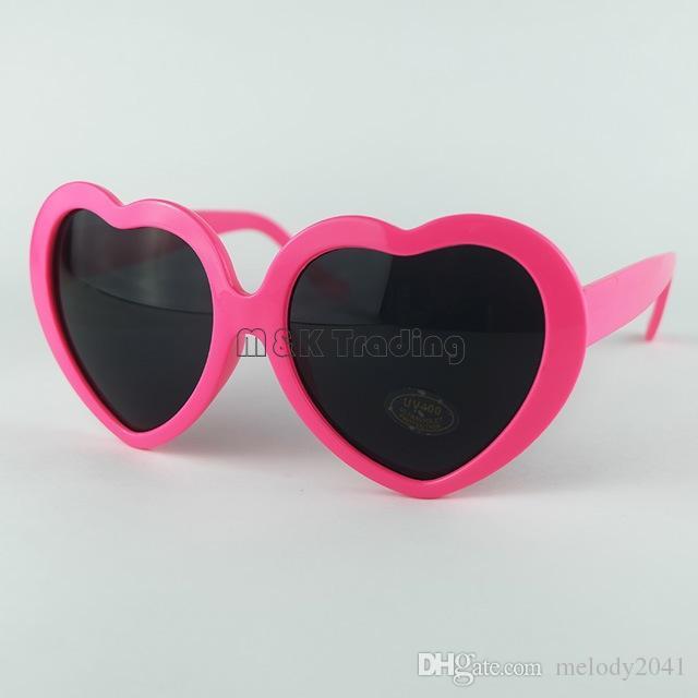 d84968a4a7 Compre es Moda Barata Mujeres Chica Verano En Forma De Corazón Lolita Gafas  De Sol Fiesta Playa Sol Sombra Escuchar A $0.73 Del Melody2041 | Dhgate.Com