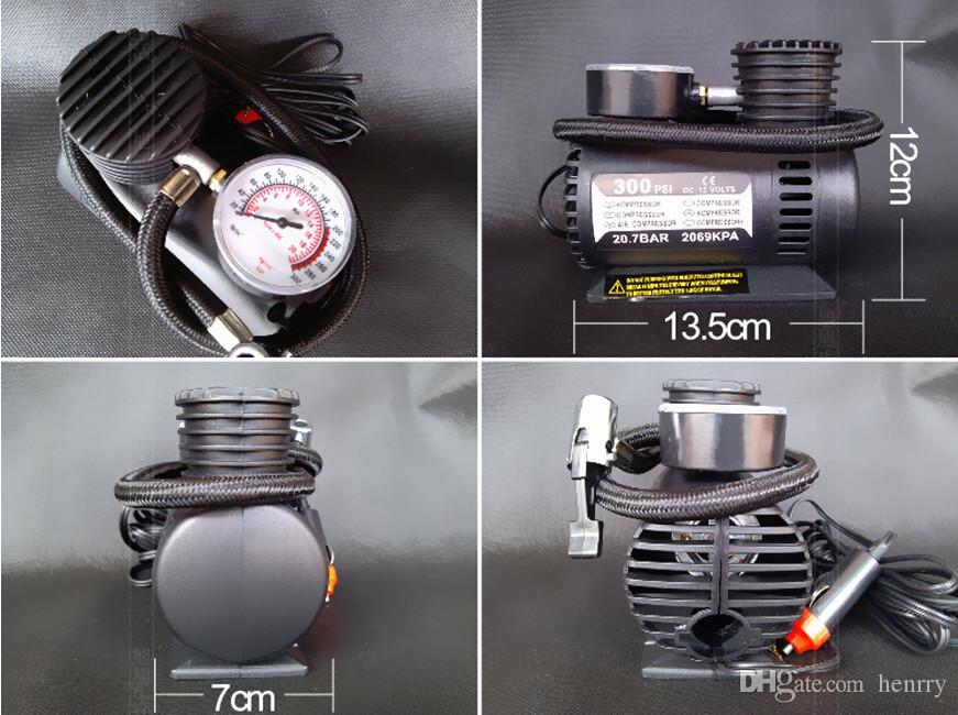 Micro-Pump 12V Car Air Pump Tires With Air Car Air Pump Mini Portable Inflatable Pump