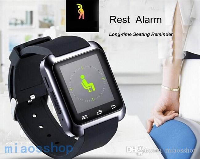 Fashion U80 Bluetooth Smart Watch With Calls Reminder Message Sync and Sport Monitor For iPhone 6,Samsung,Huawei,HTC and Nokia.