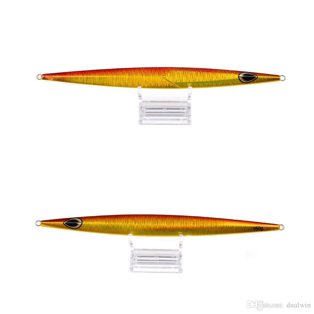 Metal Lure Fishing Bait 150g Lead Fish Metal Jig Fishing Lure Paillette Knife Wobbler Artificial Hard Bait Jigging Lure