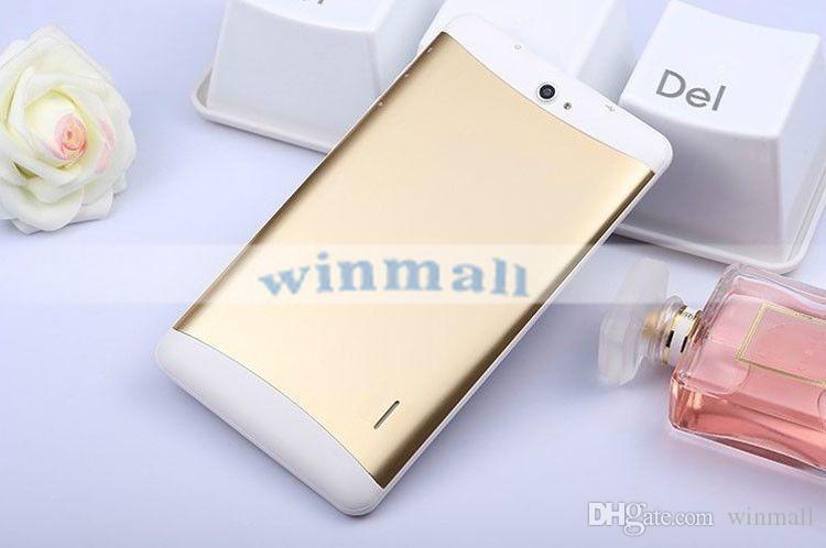 3G Doppel-SIM-Tablette PC 8GB Viererkabel-Kern 7 Zoll 1024 * 600 Schirm Bluetooth GPS Android 4.4 Doppelkamera Wifi Phablet