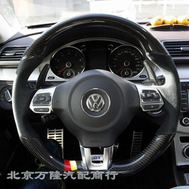 golf gti golf  scirocco  sport steering wheel steering wheel turn fur upgraded carbon