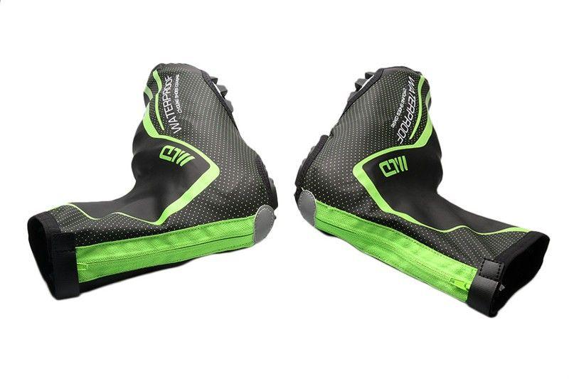 Bisiklet açık sürme ayakkabı kapak sıcak su geçirmez ayakkabı kapak bisiklet ayakkabı sürme ekipmanları PU ayakkabı kapağı
