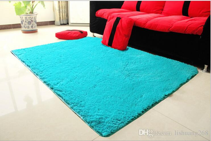 100x200cm Floor Mat Big Rugs And Carpets For Home Living Room Soft Bedroom Area Rug Fur 4cm High Children Play Coffee Table White Carpet Texture