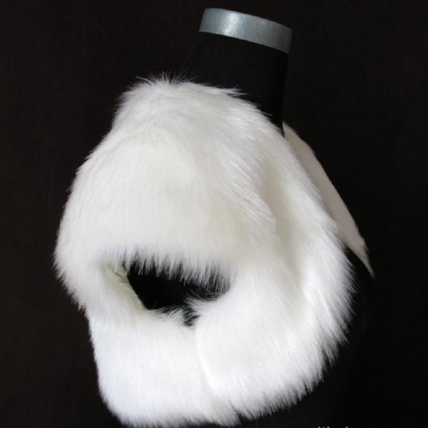 Modern Black&White Bolero Short Faux Fur Bridal Wraps/Shawls Capped Sleeves Hot Sale Party Banquet Jacket 2018 Bridal Accessories