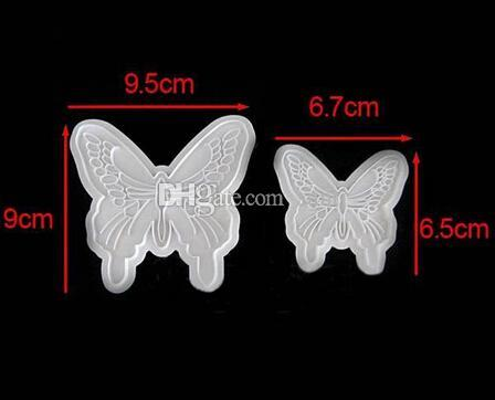 Butterfly Cake Fondant Decorating Sugar craft Cookie Plunger Cutters Mold
