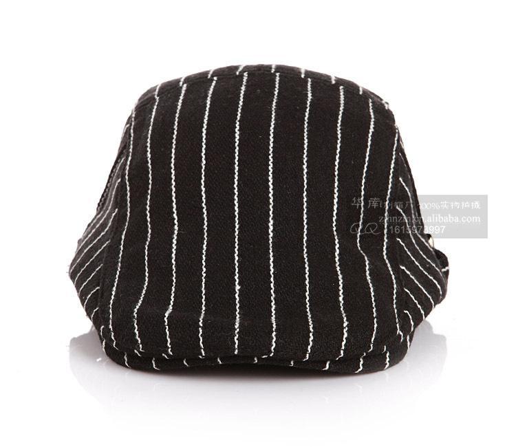 2015 горячие продажи новый панк стиль дети уха муфты полосатый Атлас ткать шляпа для малыша элегантный кот шаблон два Боттон Утконос Крышка для детей CR95