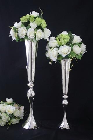 Hochzeit Blumenständer Kristall Mittelstücke für Hochzeit Tisch 124