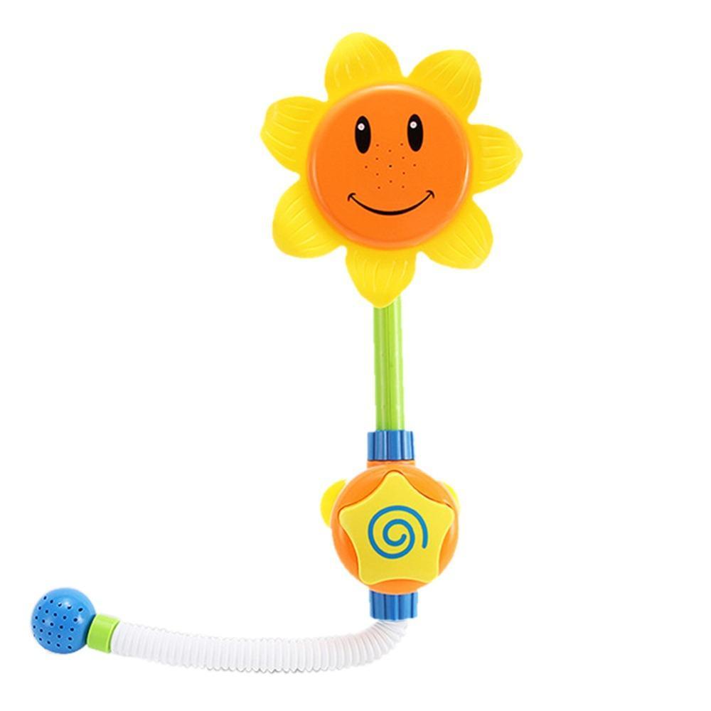 Baby Bath Toys Children Sunflower Shower Faucet Bath Toy Gift Kids ...