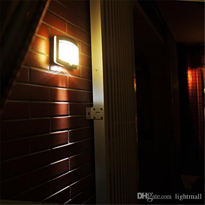 2a8b16876 Compre Atacado 10led Luz De Parede Sem Fio Sconce Sensor De Movimento  Escada Corredor Guarda Roupa Da Lâmpada Do Armário Luz Da Sala De Crianças  Livre ...