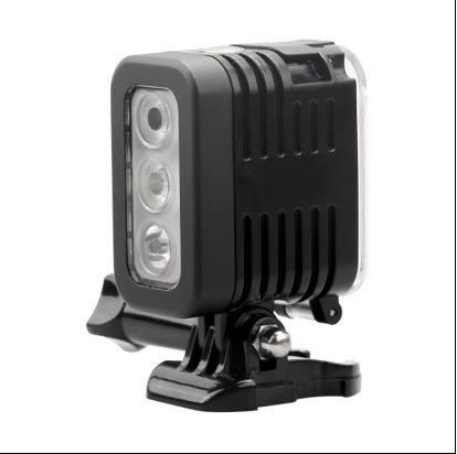 gopro waterproof led flash video light underwater for go pro hero 4 session accessories underwater diving flash light lamp
