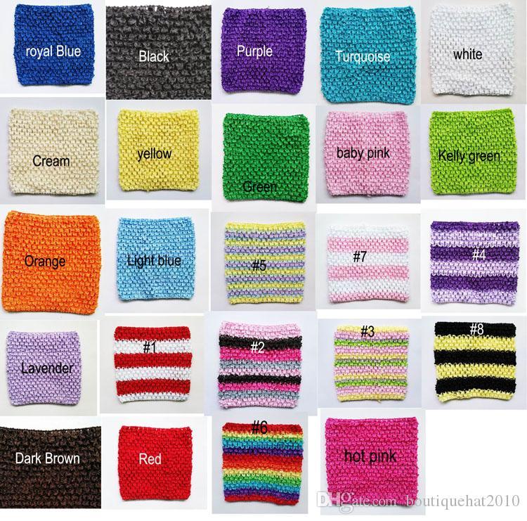 6x6 pouces petite taille corchet tube tutu tops au crochet pettiskirt tutu tops Livraison gratuite couleurs mélangées
