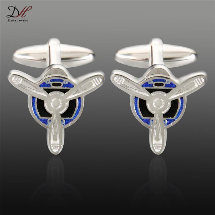 High quality Fans shaped Cufflinks For mens Shirt copper Cufflink wedding cuff links Fashion Jewelry W491