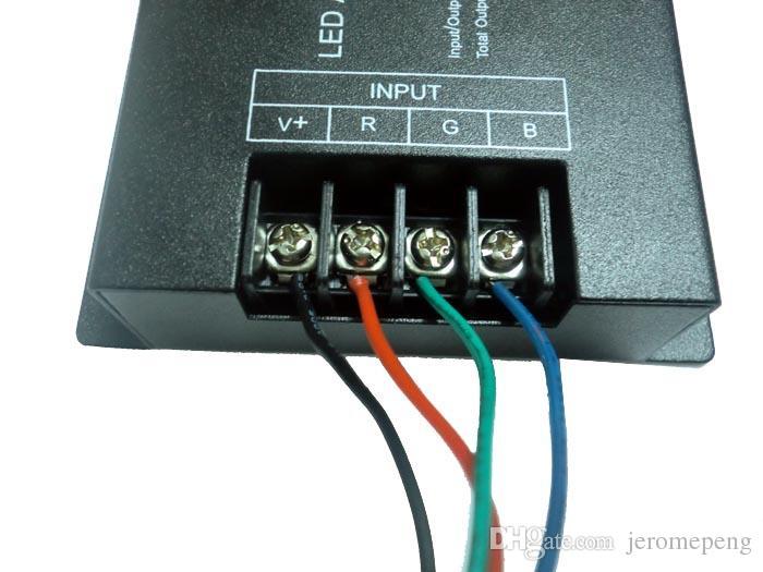 Controller 24 V DC 288W 24A RGB LED Amplificatore LED Strip Light