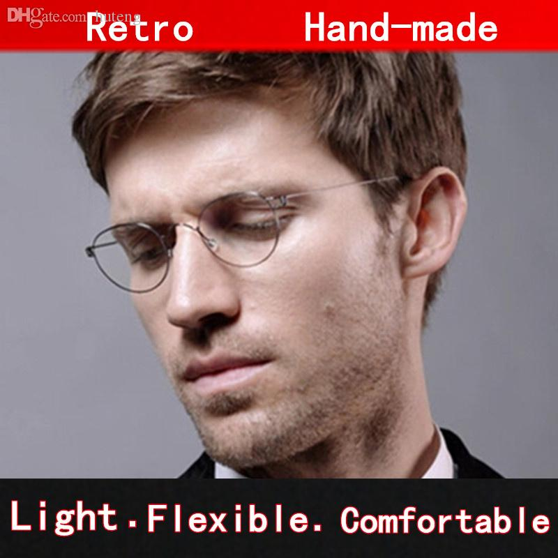 433106563f660 Compre Armação Em Forma De Atacado Oval Óculos Originais Enquadrar ...