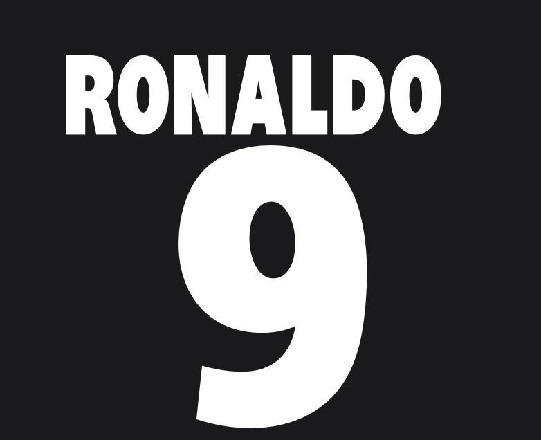 Compre 2011 The Match Against Poverty # 9 Ronaldo Nameset Soccer ...