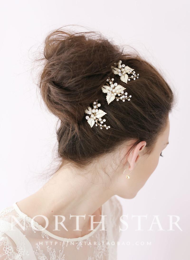 unique fascinators wedding headpieces bridal pearl hair clips