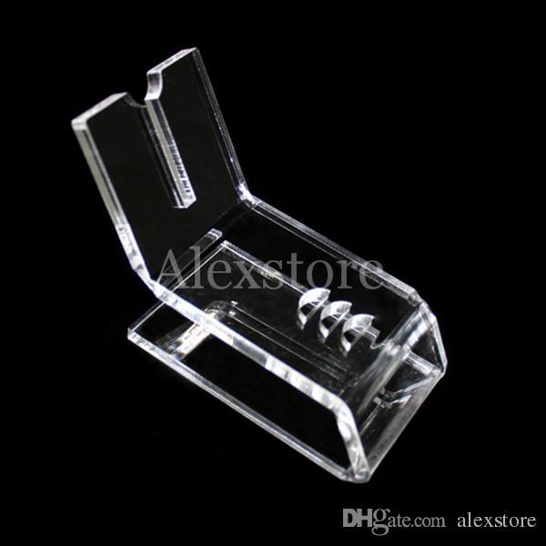 Akrilik e çiğ ekran temizle standı raf tutucu vape buhar ego için araba raf ego pil e boru ecig buharlaştırıcı kalem mech mod mekanik e-sigara