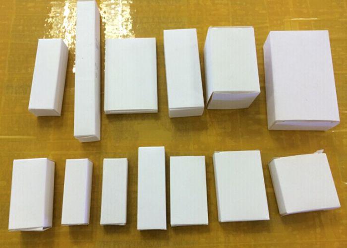 로고 없음 화이트 박스 여러 종이 상자 종이 포장 상자 크기 70x45x45MM