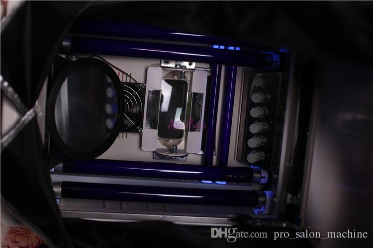 안전 UV 라이트 스킨 분석기 피부 상태 분석을위한 피부 스캐너 분석기 휴대용 뷰티 살롱 장비