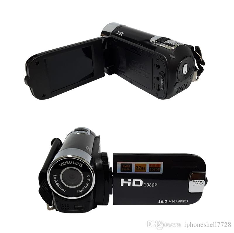 ALLOYSEED Digitale Videokamera 22MP Full HD 1080P 32GB 16x Zoom Mini-Camcorder DV-Kamera WiFi 3.0