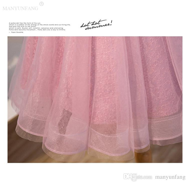 2020 nuevas damas de honor de lujo vestidos escarpados de cuello de la joya Encaje Tul país largo de dama de honor Dama de honor vestidos de boda de los huéspedes