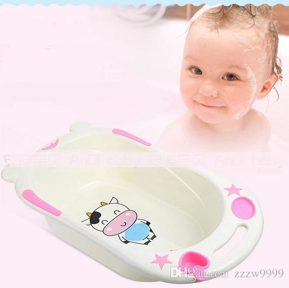 Baby bath pot thickened children bathing bucket child bath basin ...