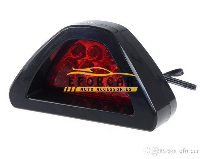 12 LED Lampeggiatori rossi lampeggianti a coda di coda Lampada auto Luce stroboscopica retromarcia Lampeggiatori d'emergenza a luce pulsata DC 12V