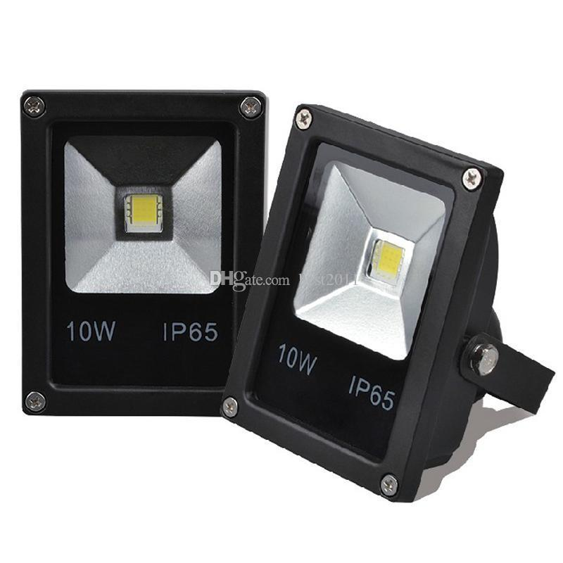 Ultrathin 10W 20W 30W 50W AC 85-265V LED Flood Light white Floodlight IP65 Water-resistant Environmental-friendly for Outdoor Garden Yard