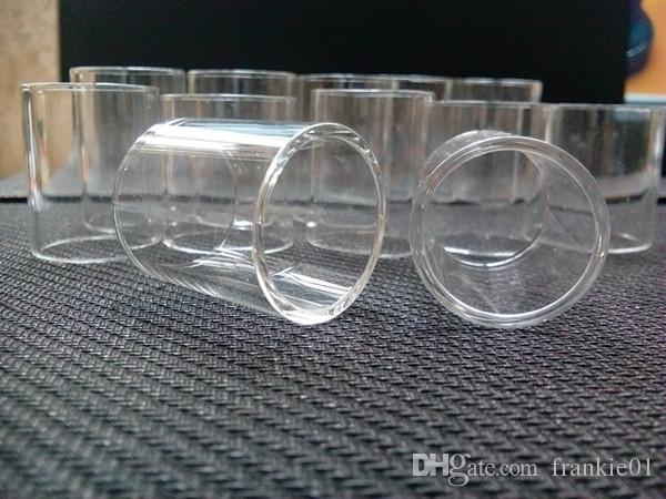 Pyrex Glass Tube Wymiana dla Nunchaku Tank E Papieros Atomizer Glass Tube Hurtownie Najtańsze przedmioty Akcesoria Vape Chiny online