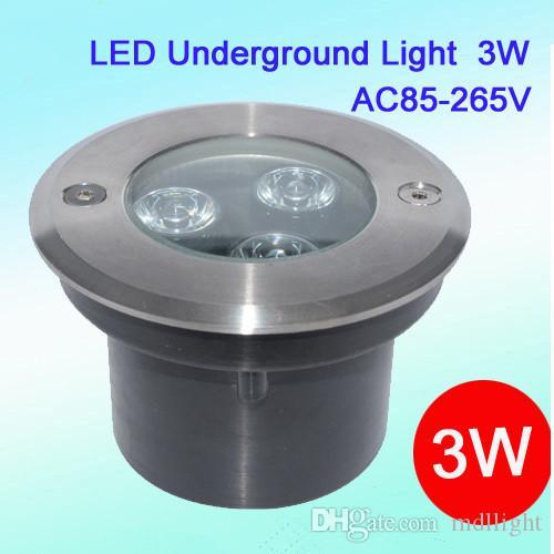 2018 dimmable ground led light in ground lamp 3w 12v 24v 100 240v